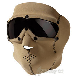 Swiss Eye Neoprene Face Mask with Integrated Goggles Coyote