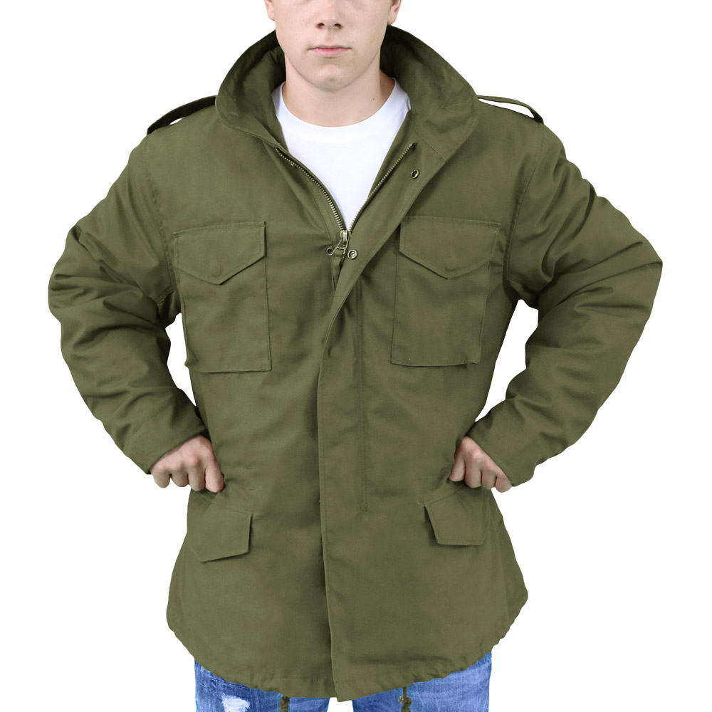 M65 Jackets The M65 field jacket, created and introduced in for the U.S. Army, remains one of the most popular and recognizable types of military jackets. It's not only comfortable, functional and tough but will also always give you that desired classic look.