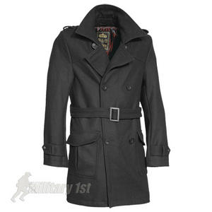 Surplus Crown Coat Black
