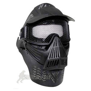 MFH Visual Protection Mask Paintball Black