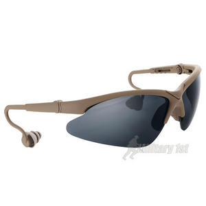 Swiss Eye Shooting Glasses Coyote Frame