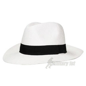 Fox Outdoor Panama Hat Broad Brim White/Black