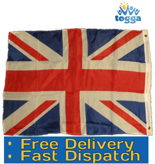 Union Jack Flag Medium Size *2ft x 3ft* QUEEN'S JUBILEE Celebration