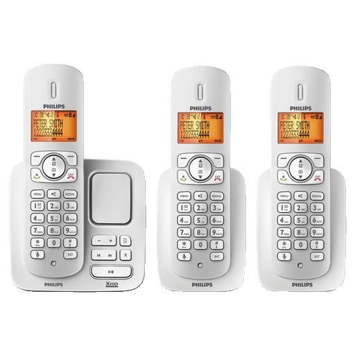 PHILIPS CD275 TRIO DIGITAL PHONE + ANSWER MACHINE