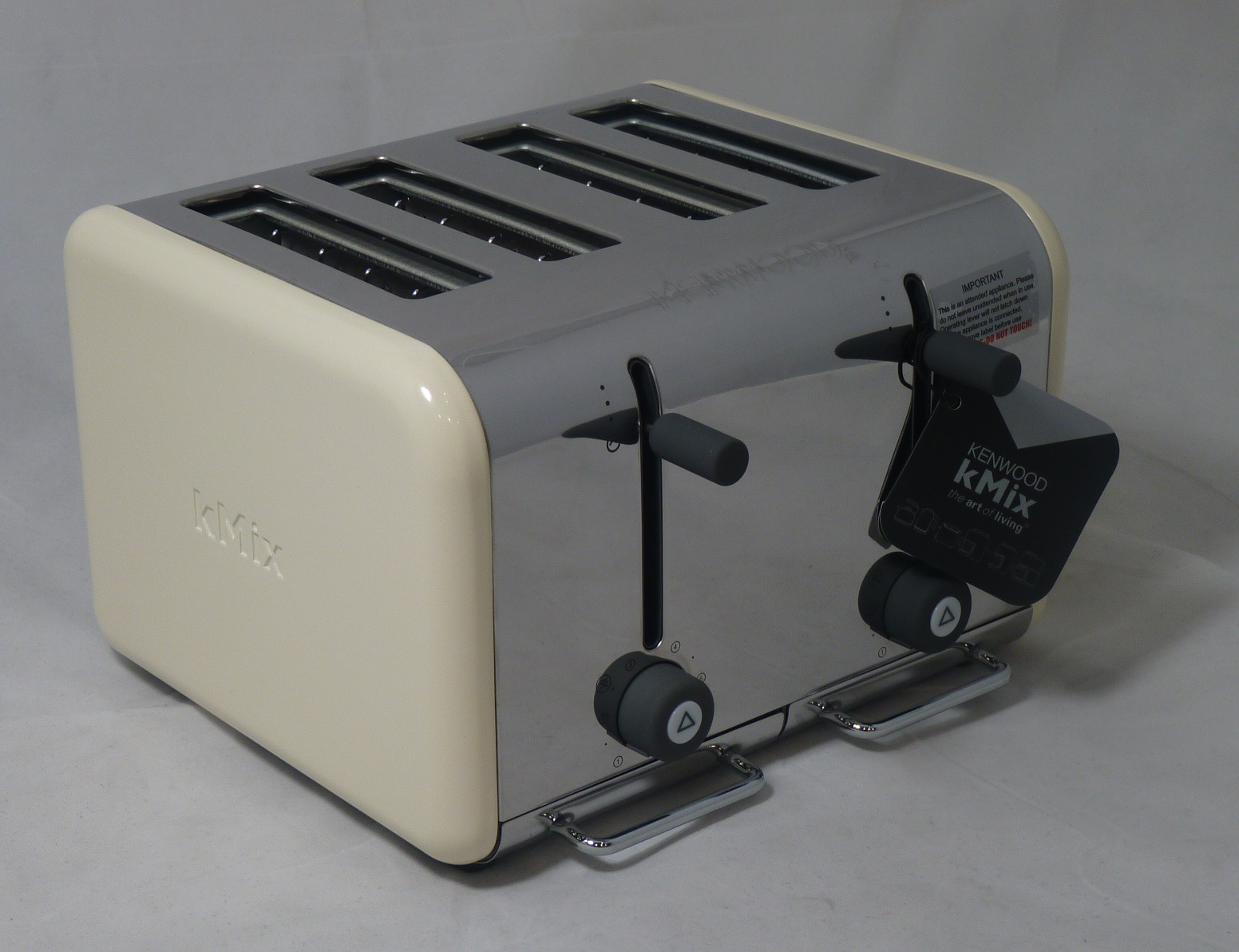 kenwood kmix ttm042 almond 4 slice toaster ebay. Black Bedroom Furniture Sets. Home Design Ideas