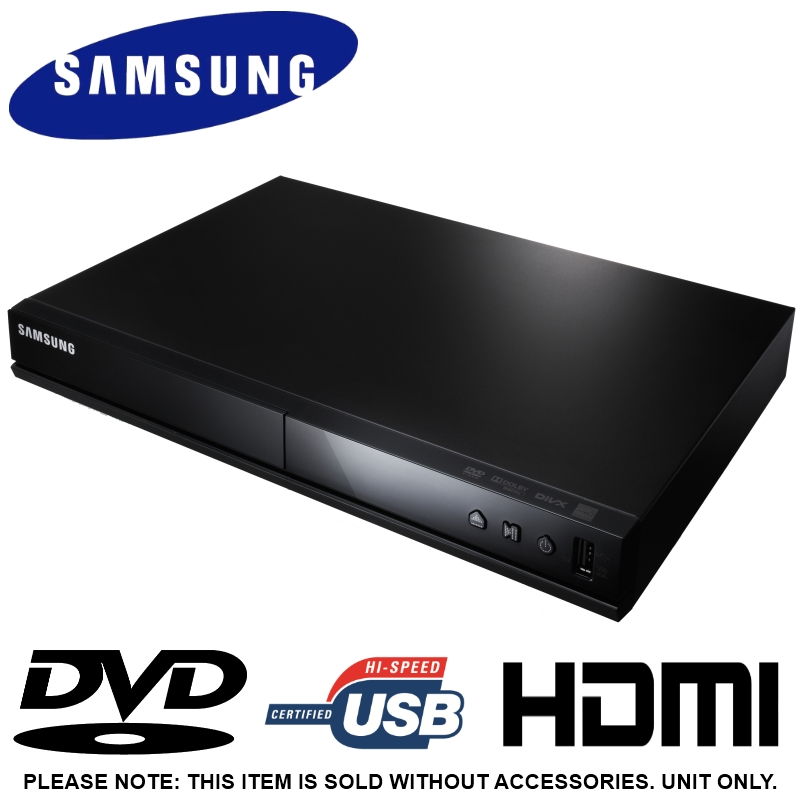 SAMSUNG DVD-E360 DVD PLAYER USB 2.0 CONNECTIVITY DVD ...