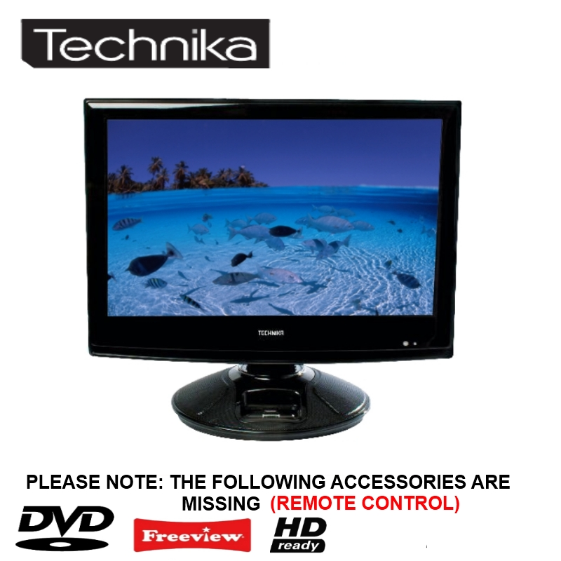 """Portable Tv With Freeview And Dvd Portable Toddler Travel Bed Portable Public Urinal Portable Satellite Tv Near Me: TECHNIKA 22-218 22"""" LCD TV/DVD COMBI HD READY WITH"""