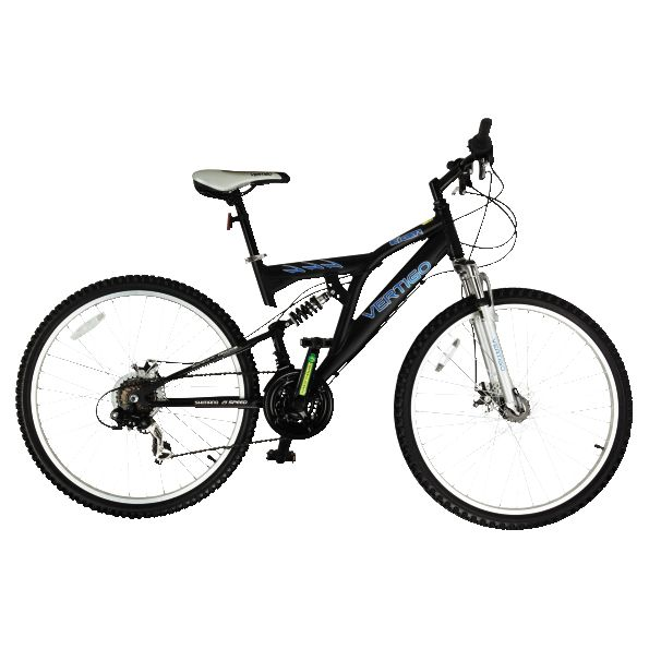refurbished vertigo eiger 26 wheels bike 18 frame 21 speed mountain bike ebay. Black Bedroom Furniture Sets. Home Design Ideas
