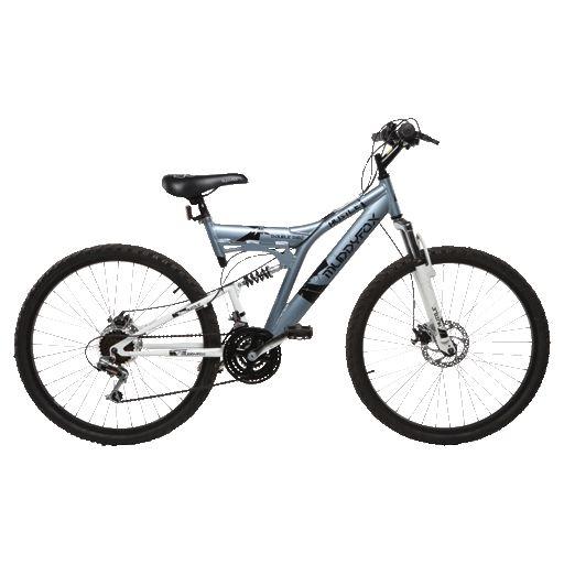 Muddy Fox 26 Quot Hustle Adults Mountain Bike Dual Suspension Unisex Grey