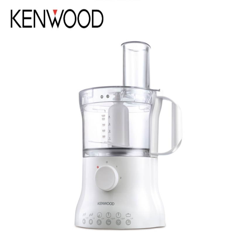 KENWOOD FPP210 MULTIPRO COMPACT FOOD PROCESSOR 2.1L BOWL 500W MOTOR - WHITE