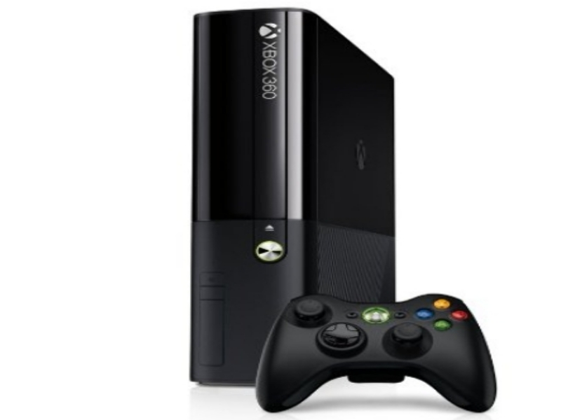 Xbox 360 4gb Games Console Black Kinect Ready Wi