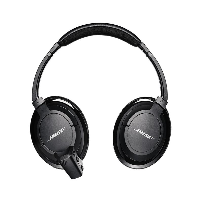 bose ea2w over the ear bluetooth headphones black ebay. Black Bedroom Furniture Sets. Home Design Ideas