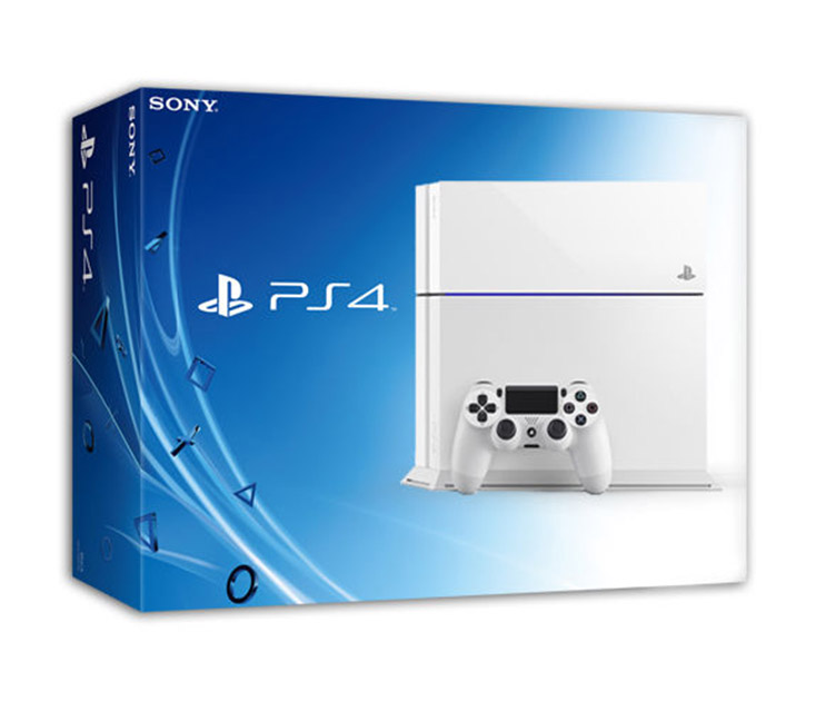 Sony PS4 Playstation 4 Console Glacier White 500GB Full HD ...
