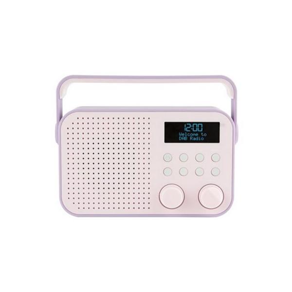 new tesco digital radio dr1404p fm 20 prescent stations lcd display alarm clock ebay. Black Bedroom Furniture Sets. Home Design Ideas