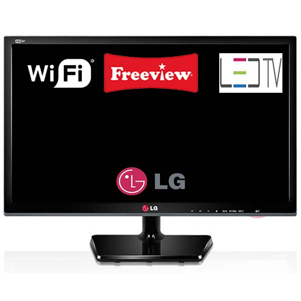 lg 24mt35s pz smart led tv with built in wifi and freeview tuner black ebay. Black Bedroom Furniture Sets. Home Design Ideas