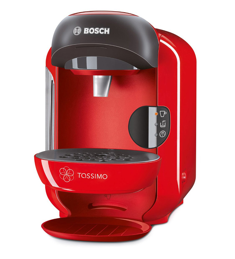Bosch Coffee Maker Hot Water : Bosch TAS1253GB Tassimo Vivy Hot Drinks And Coffee Machine 1300 W - Red 4242002830742 eBay