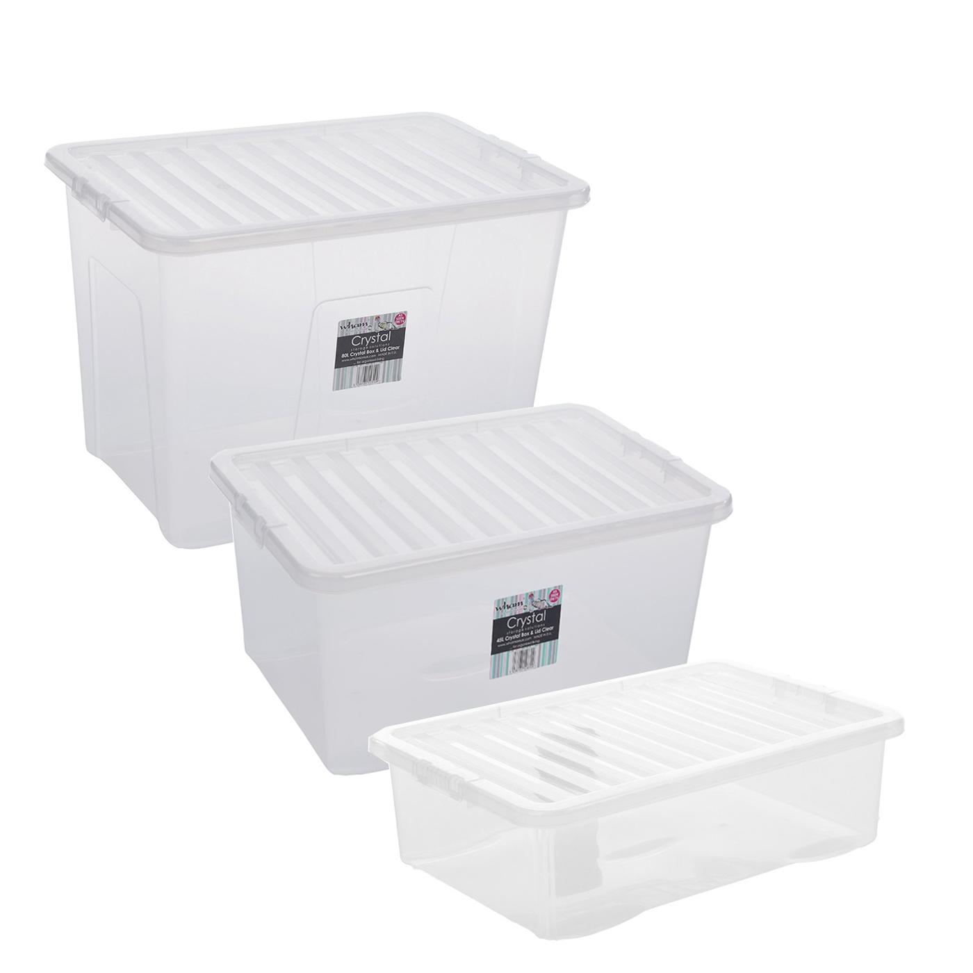 new tesco underbed storage box 32 litre 45 litre and 80. Black Bedroom Furniture Sets. Home Design Ideas