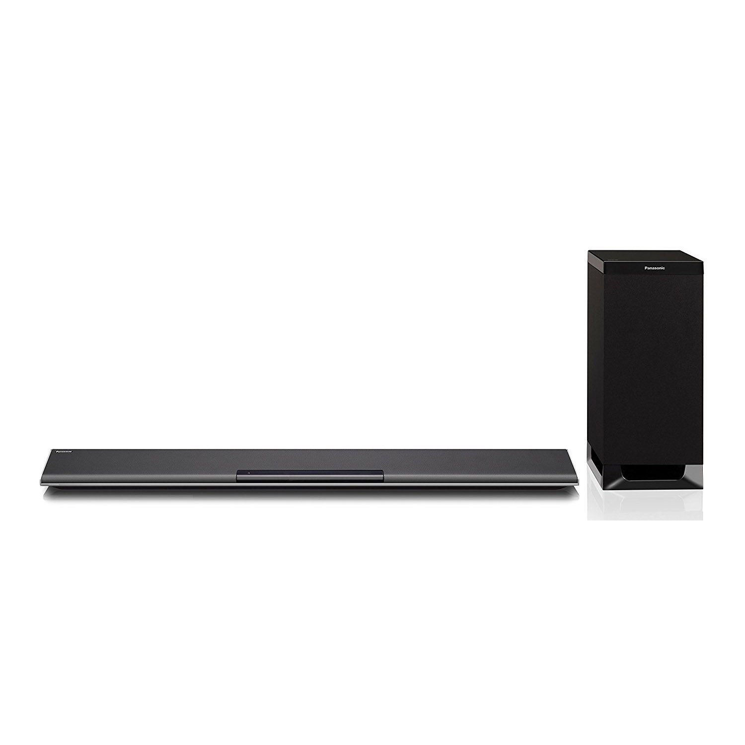 panasonic sc htb485e soundbar with wireless subwoofer 250w. Black Bedroom Furniture Sets. Home Design Ideas