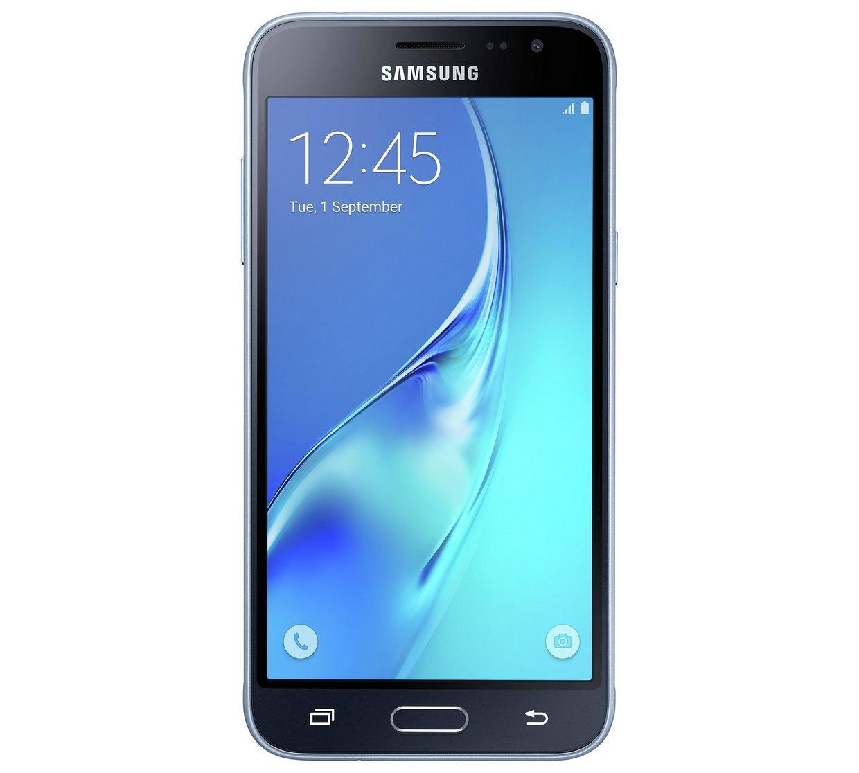 samsung galaxy j3 mobile phone 5 8gb 8mp black unlocked. Black Bedroom Furniture Sets. Home Design Ideas