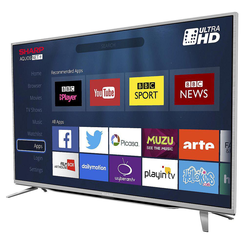 "Sharp LC-49CUG8462KS 49"" LED Smart TV WiFi 4k UHD With"
