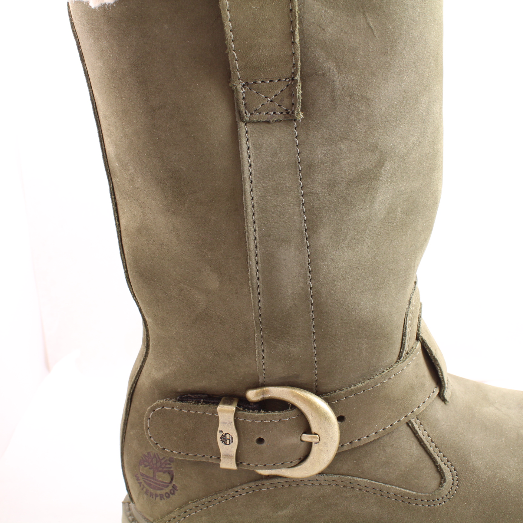 Sentinel Womens Timberland Nellie Pull On Olive Nubuck Boots Size UK 3.5 *Ex Display