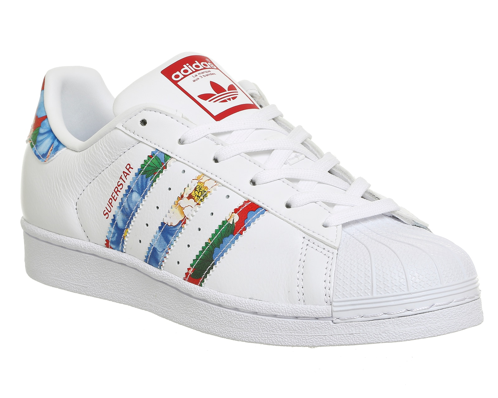 Adidas Superstar Womens Metallic Stripes