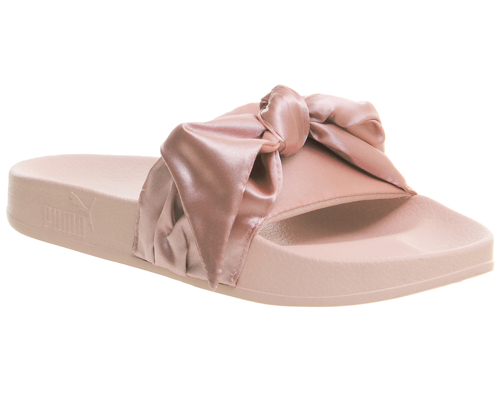 Womens-Puma-Fenty-Ribbon-Slide-PINK-Trainers-Shoes
