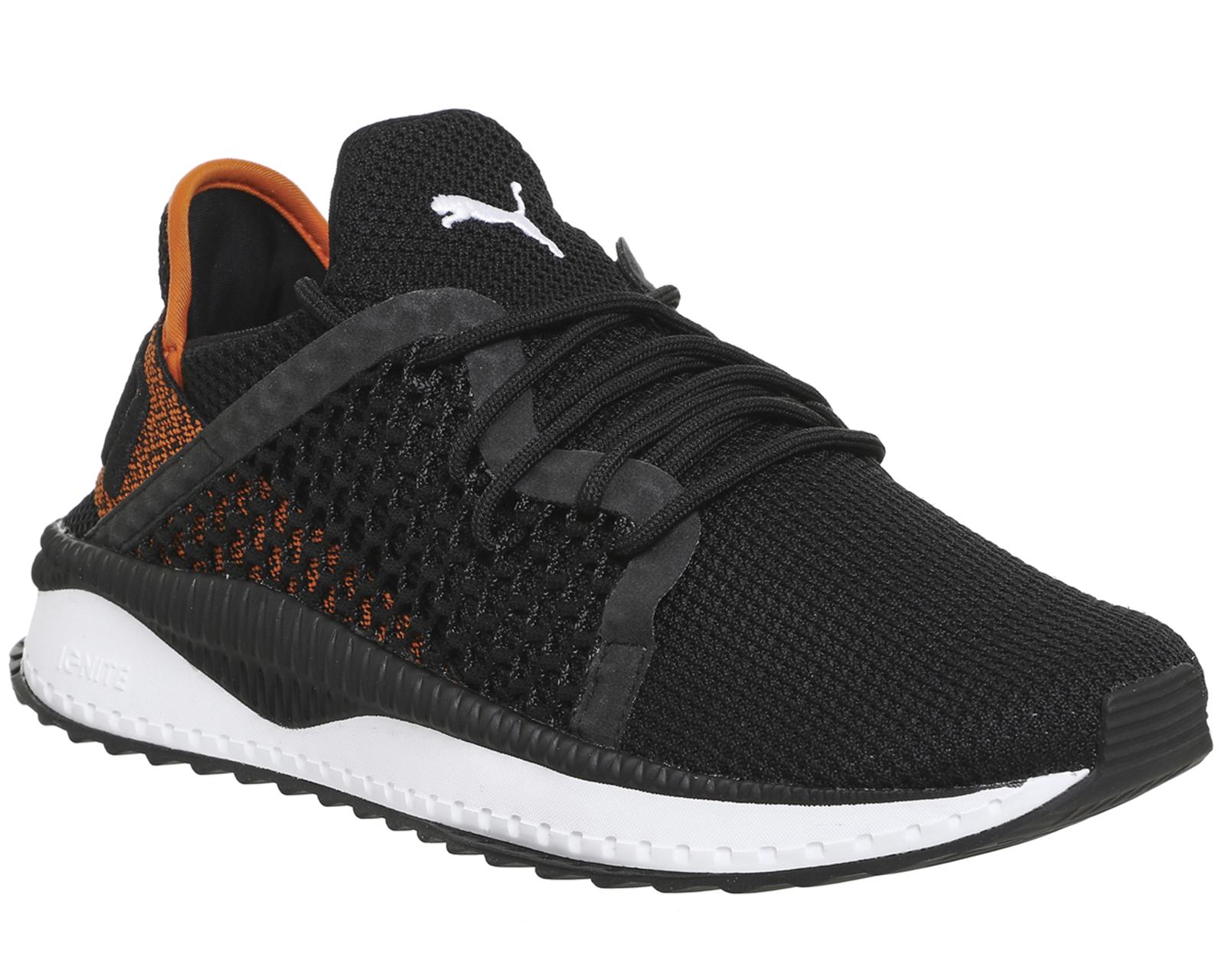 6d943326c14cd ... Puma-Tsugi-Netfit-BLACK-WHITE-Trainers-Shoes ...