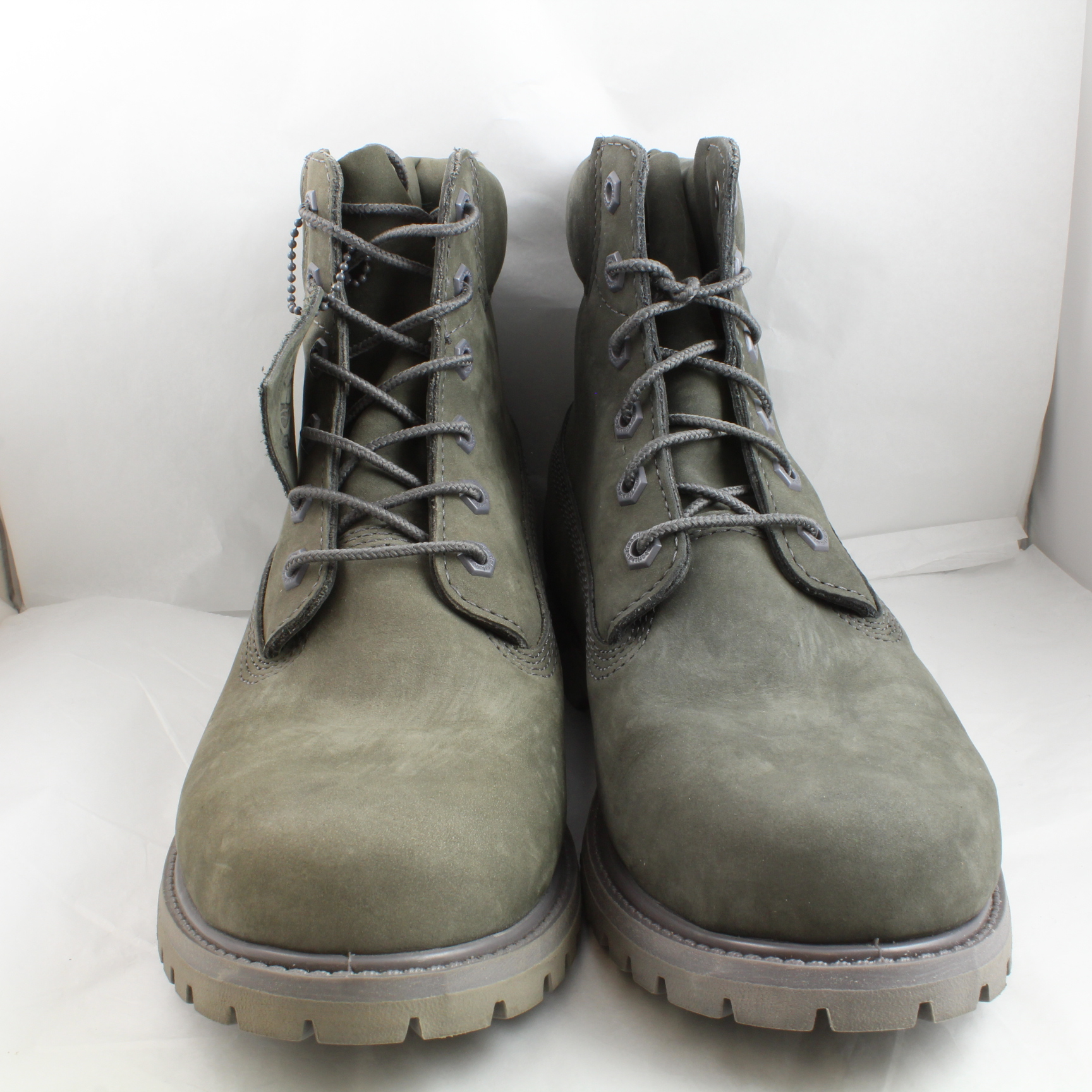 womens timberland grey leather ankle boots uk size 8 ex