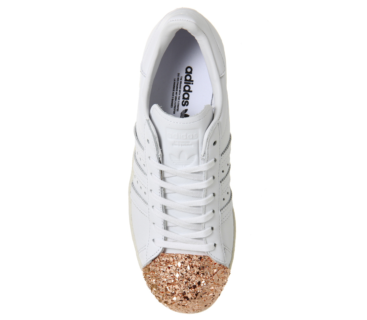 brand new 108e3 972cc adidas superstar 80s gold metal toe