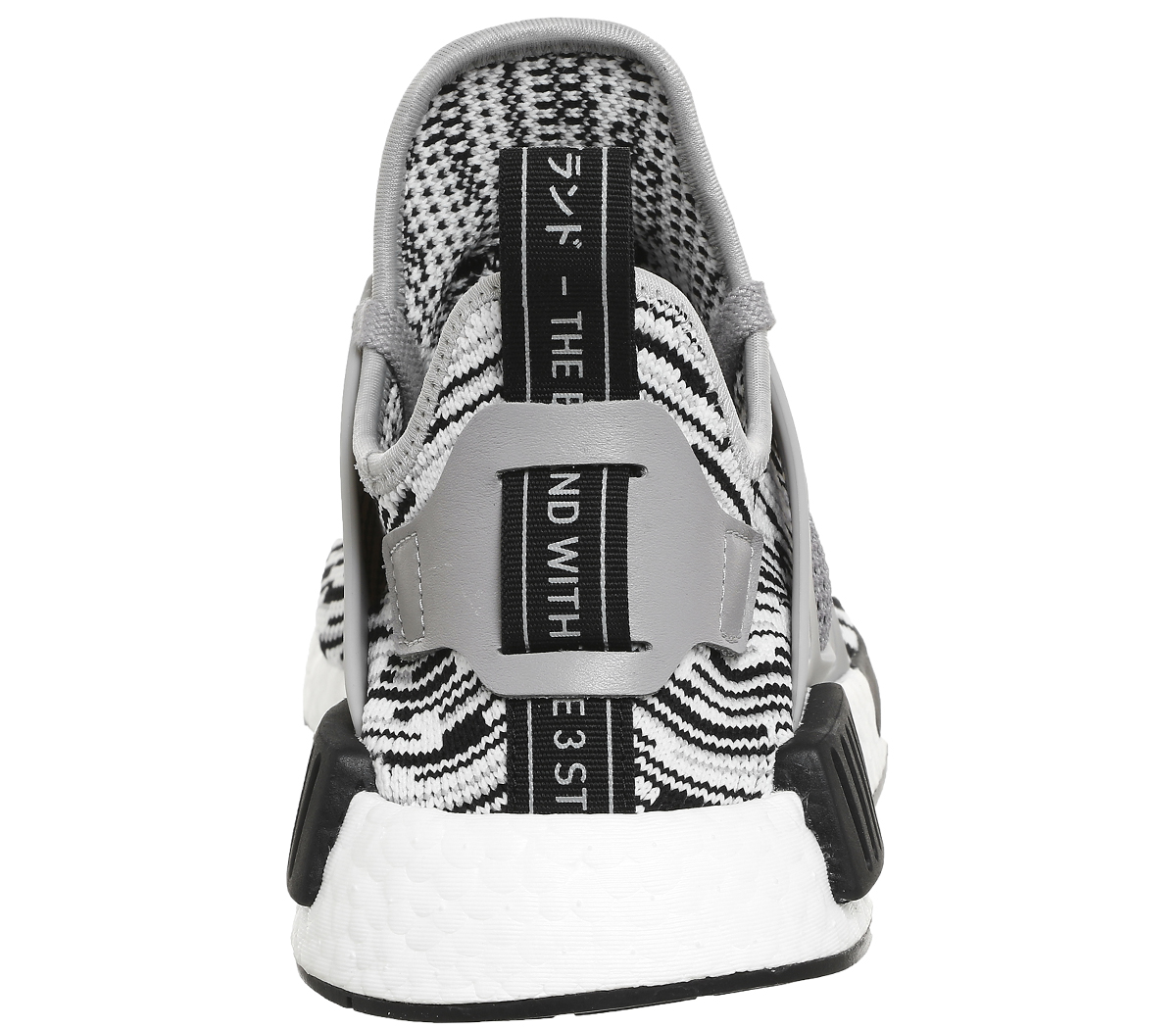 super cheap ba84c 5eeb2 Details about Adidas Nmd Xr1 BLACK SOLID GREY WHITE PK Trainers Shoes