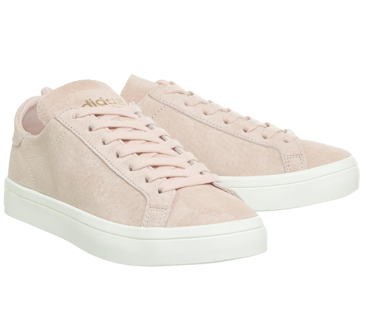 adidas Originals COURTVANTAGE - EXCLUSIVE - Trainers - vapour grey/footwear white 3czoO5m