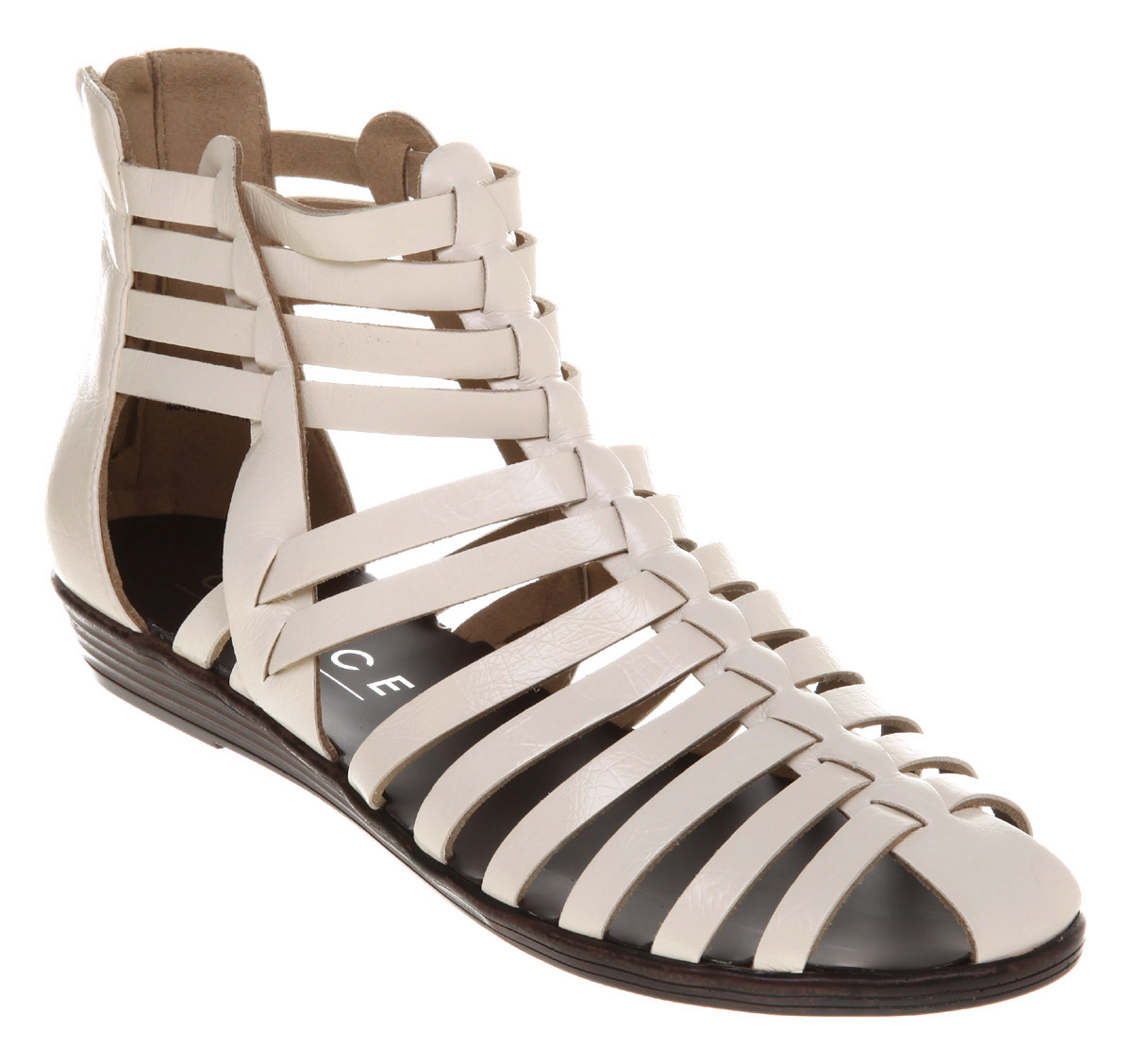 Womens-Office-Neopolitan-Gladiator-White-Pu-Sandals