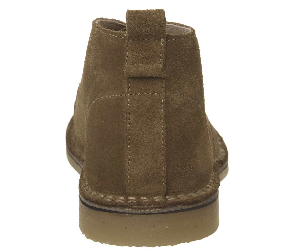 Mens Office Ibex Chukka Boots Rust Suede Boots