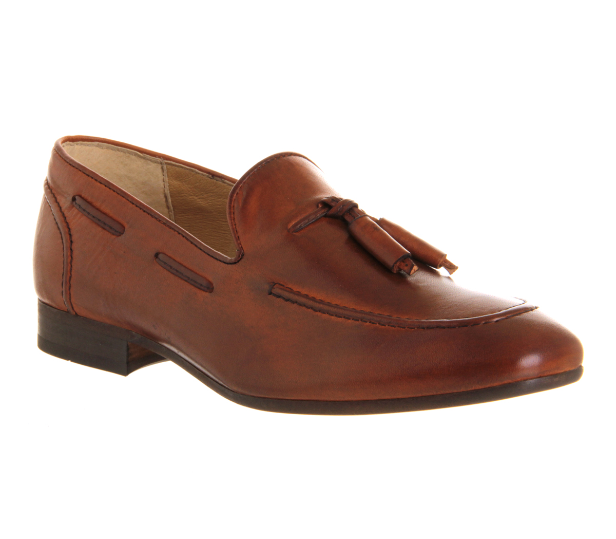 mens h by hudson piere loafer leather formal shoes ebay
