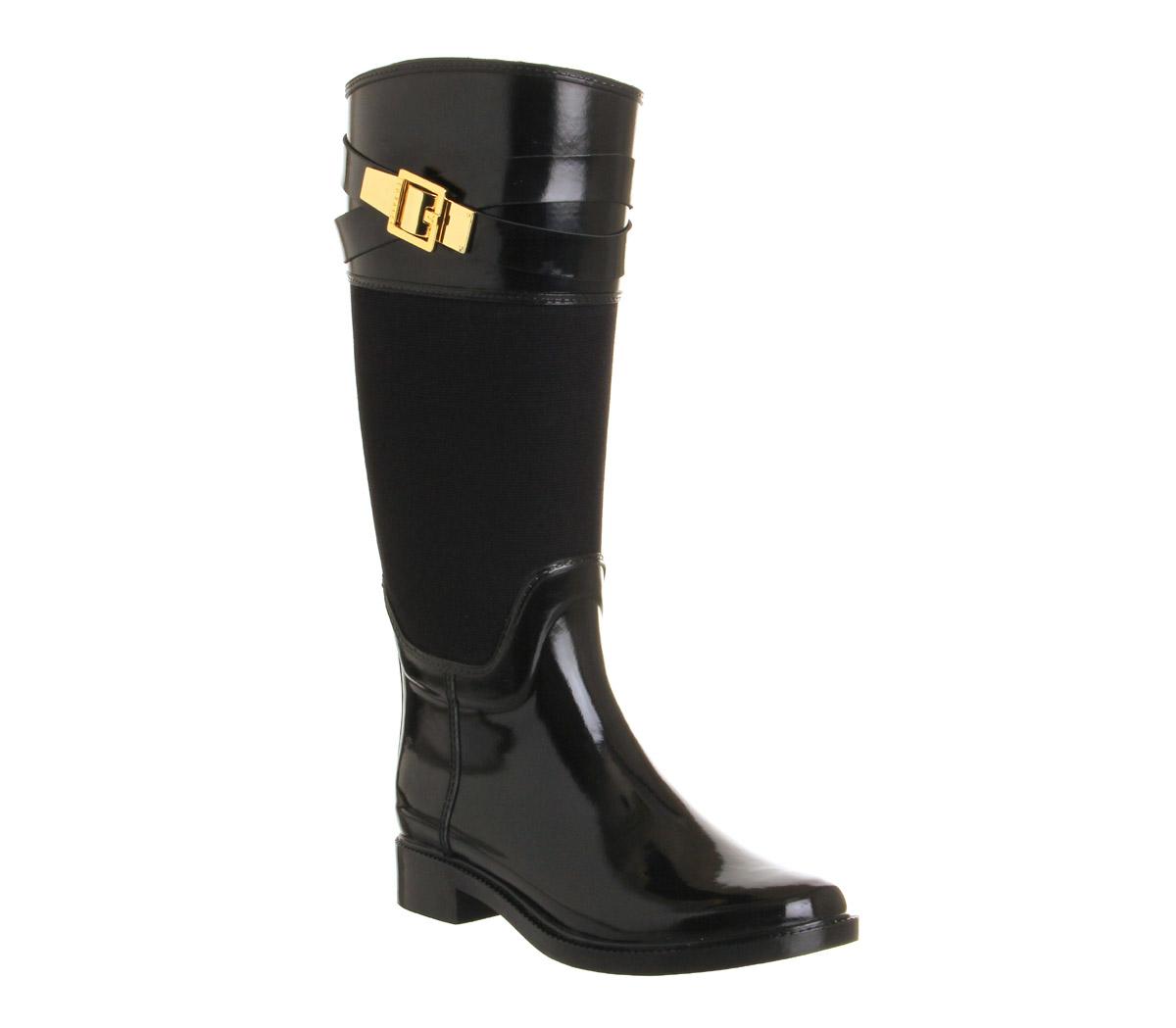 womens ted baker berklean welly black boots ebay