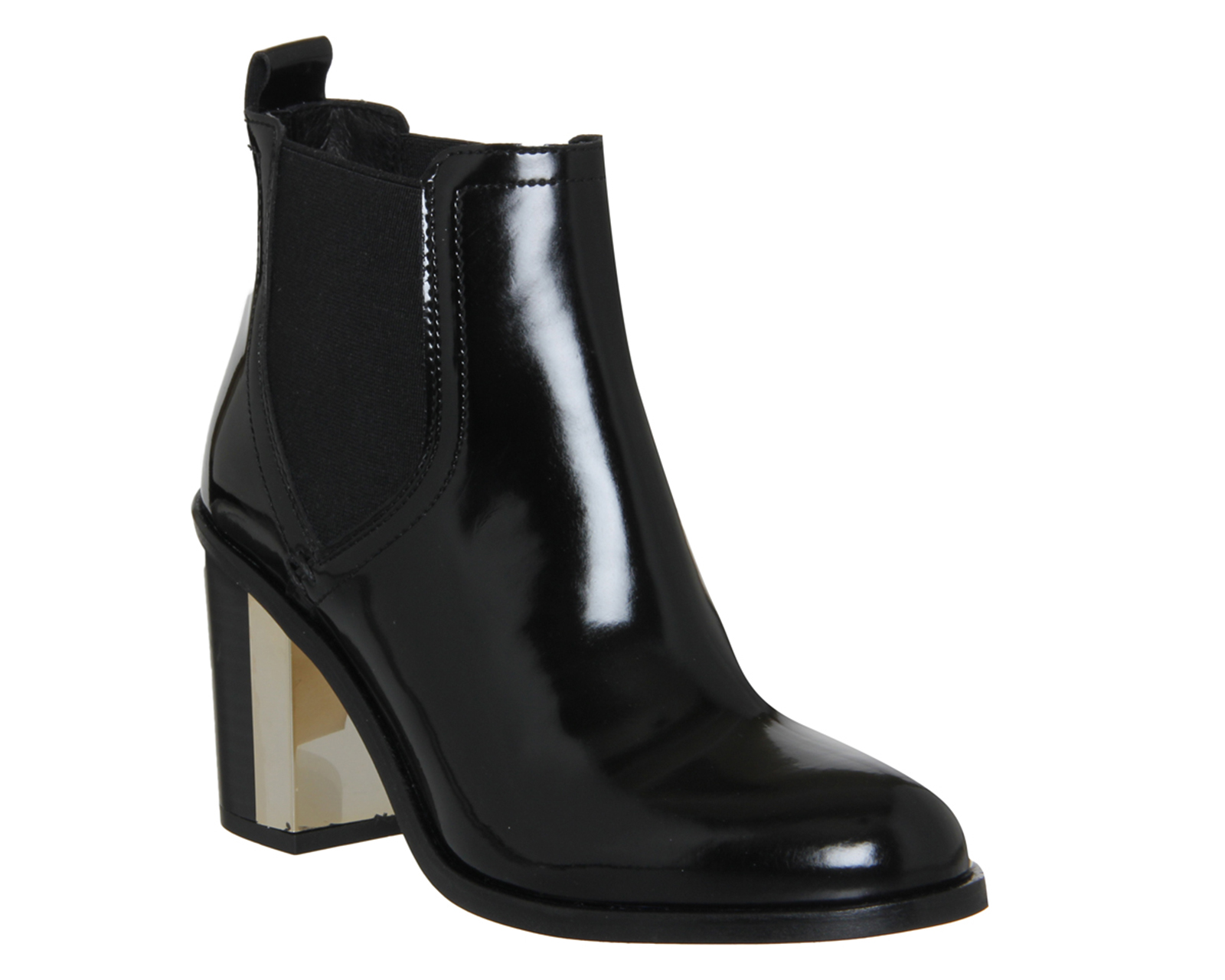 Perfect With Undeniable Mod Roots, The Dr Martens Bianca Low Shaft Chelsea Boot A Classic Bootie Design Crafted In Leather, You Can Choose Between Smooth And Patent Finishes In Upper Elasticized Sides And AirWair Branded Pull Tab Make