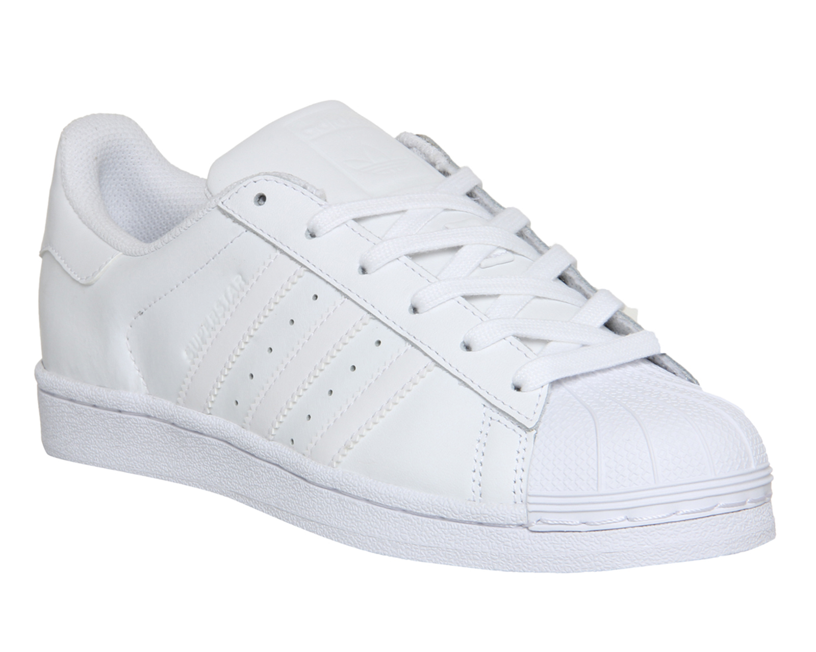 womens adidas white superstar foundation trainers buy adidas ... 25183a13a