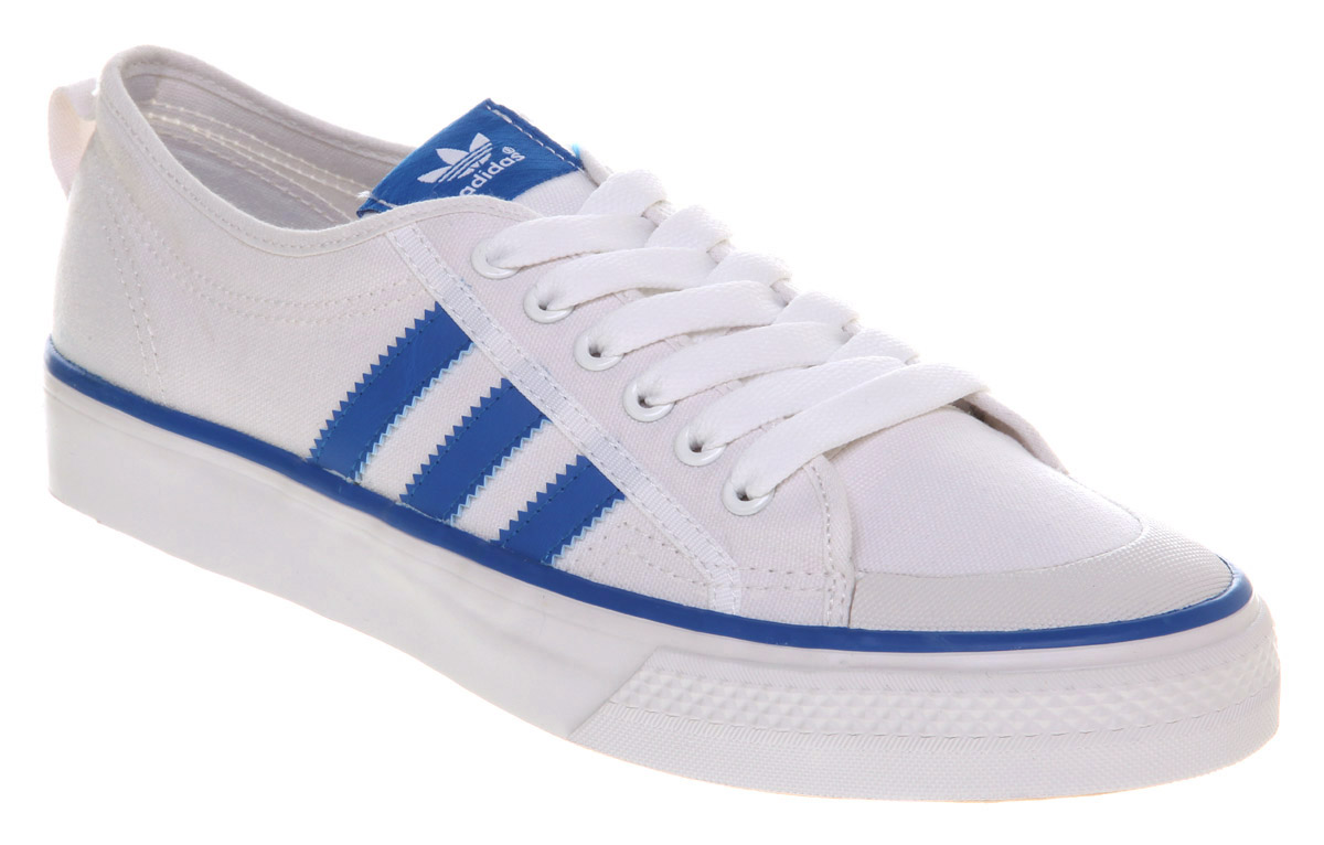 Mens White Adidas Tennis Shoes