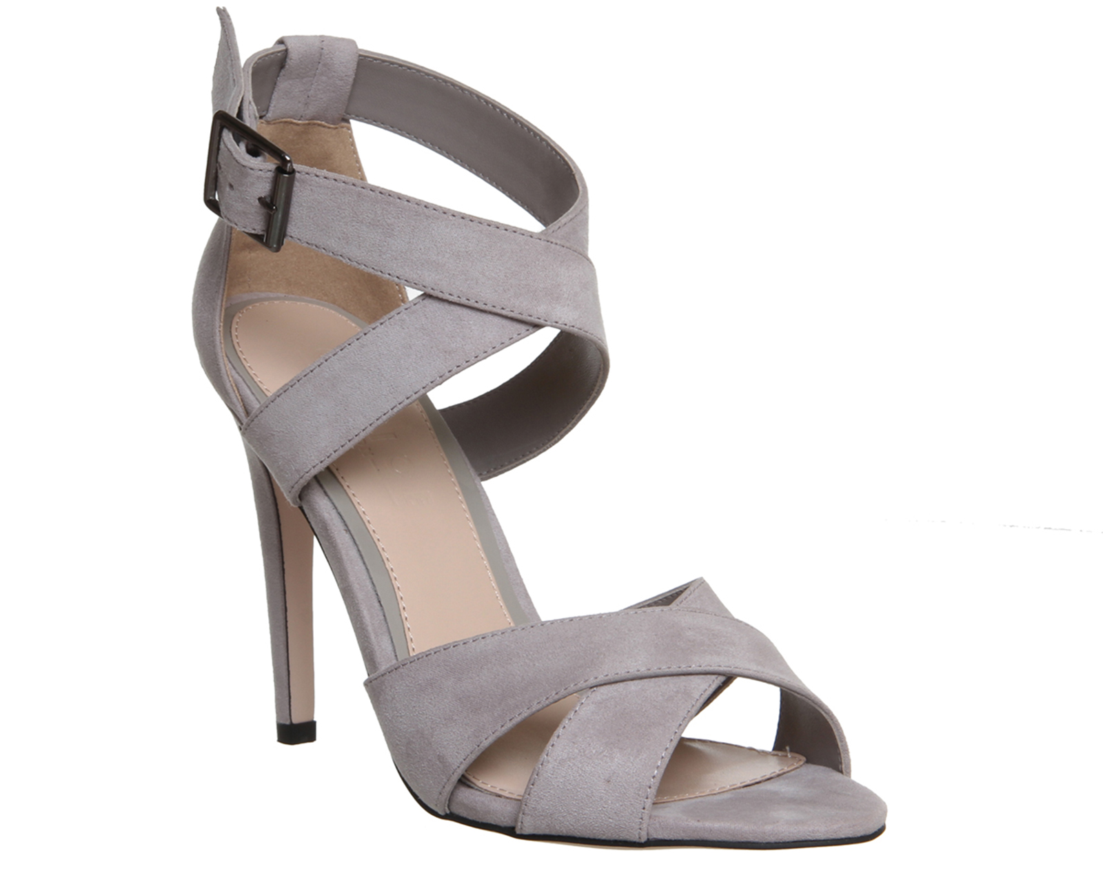 Grey Heels For Women - Is Heel