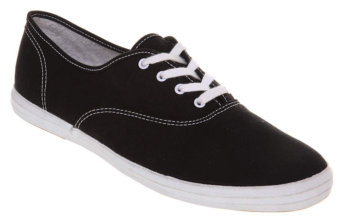keds chion cvo black white trainers shoes ebay