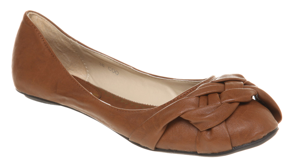 Image Is Loading Womens Office Daydreamer Pump Tan Flats Flat Shoes