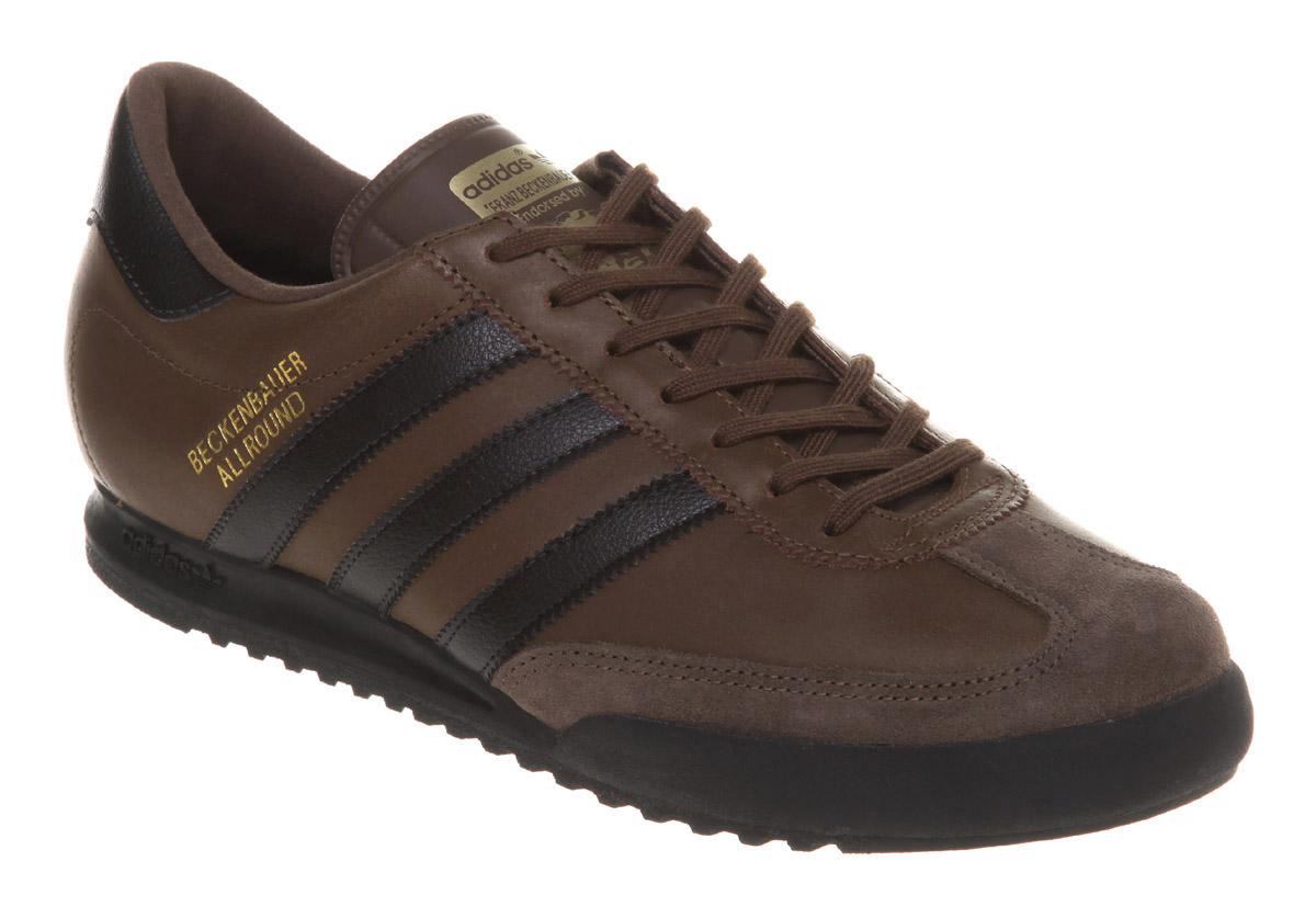 Adidas Beckenbauer Shoes Brown