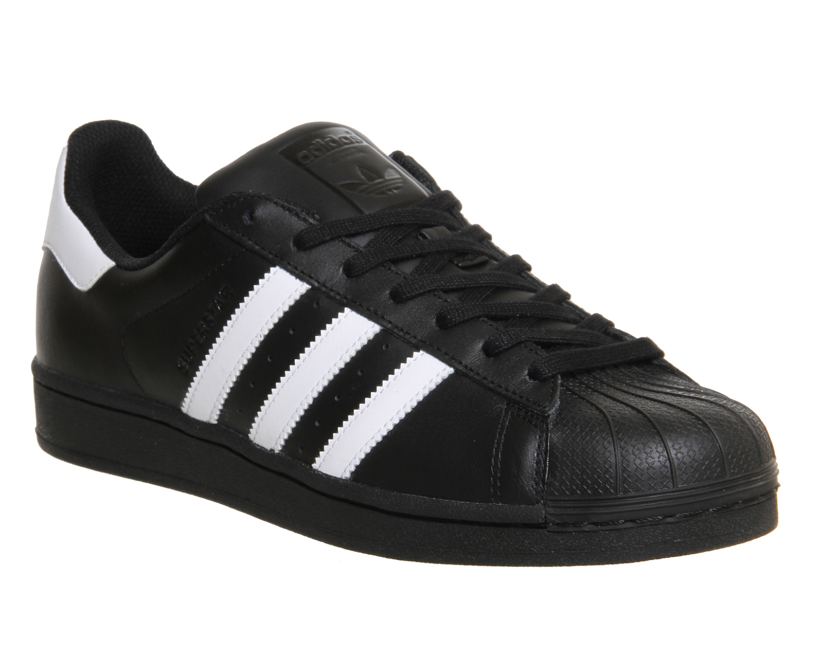 Adidas Superstar All White And Black