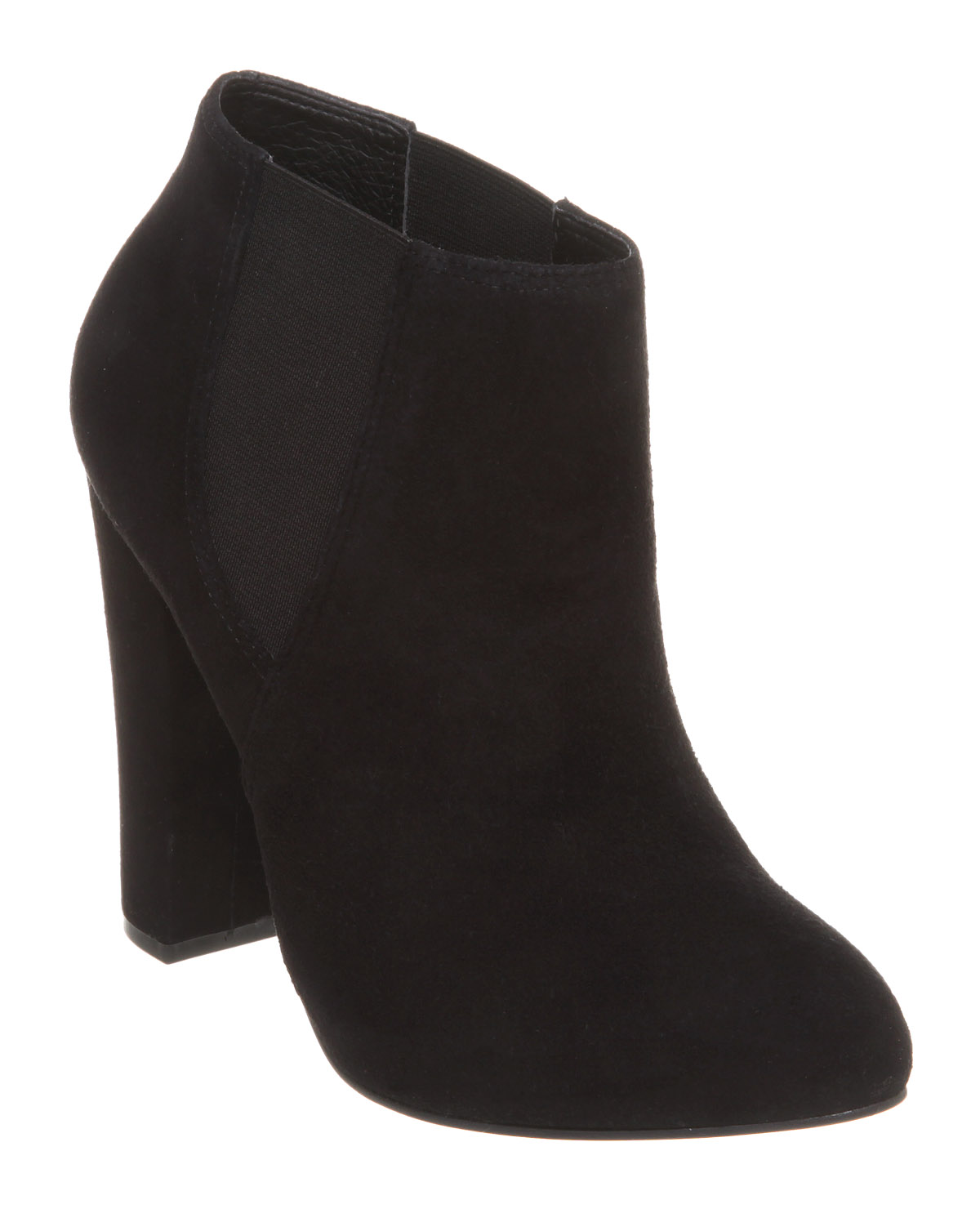 Womens-Office-Kendall-Chelsea-Boot-Black-Suede-Boots