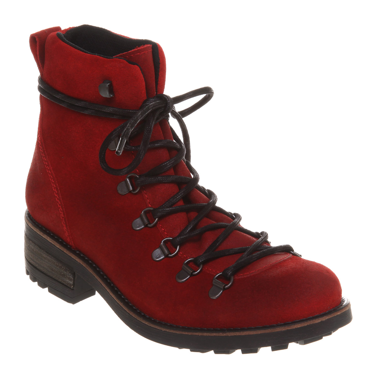 Innovative Fabi - Red Suede Ankle Boots - Red Menu0026#39;s Boots | Italist