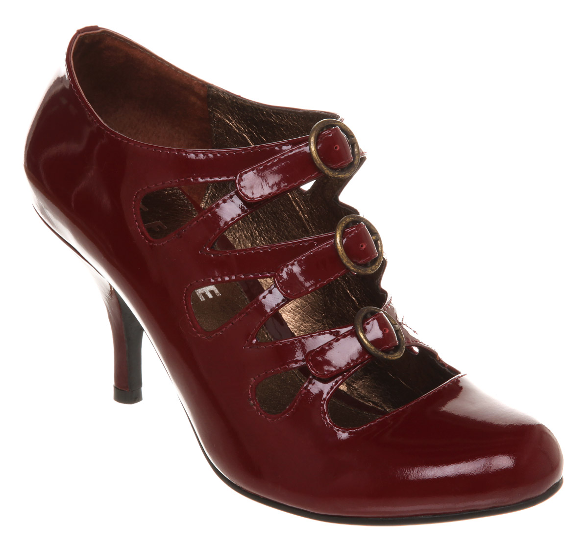 womens office free burgundy patent leather heels ebay