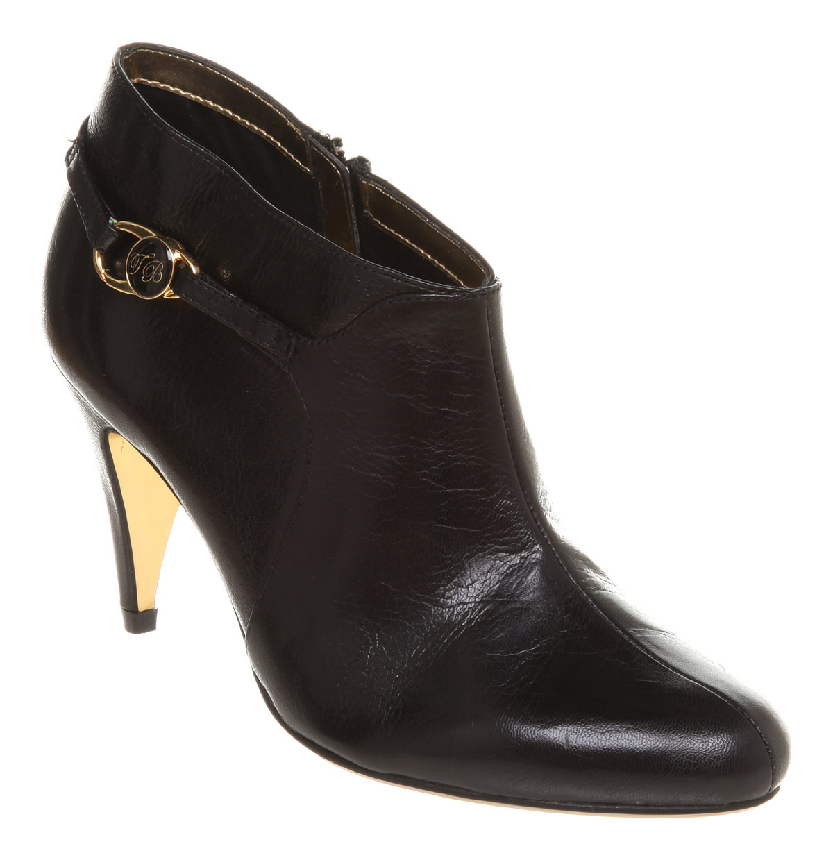womens ted baker emaria ankle boot black leather boots ebay