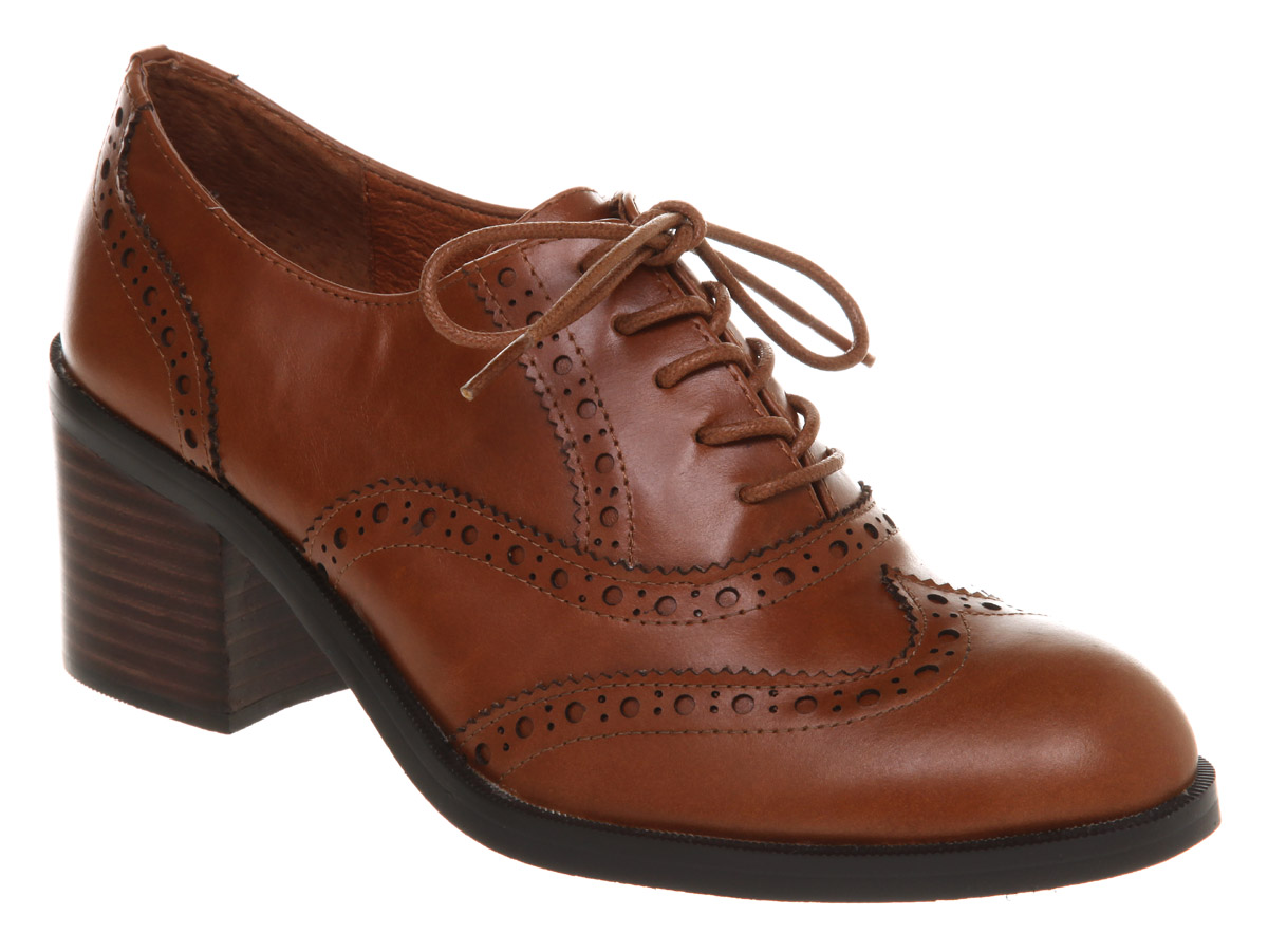 Womens Tan Shoes Office
