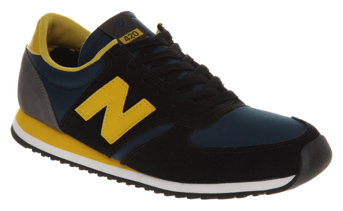 new balance 420 navy yellow